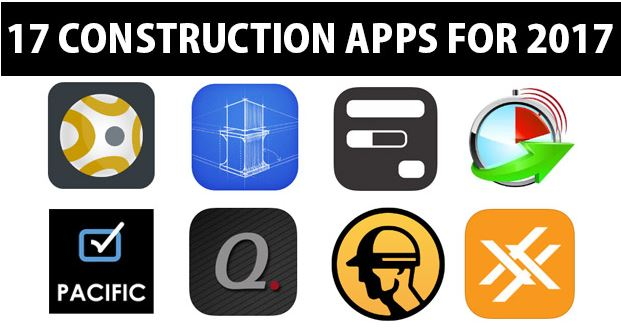 Construction apps for 2017
