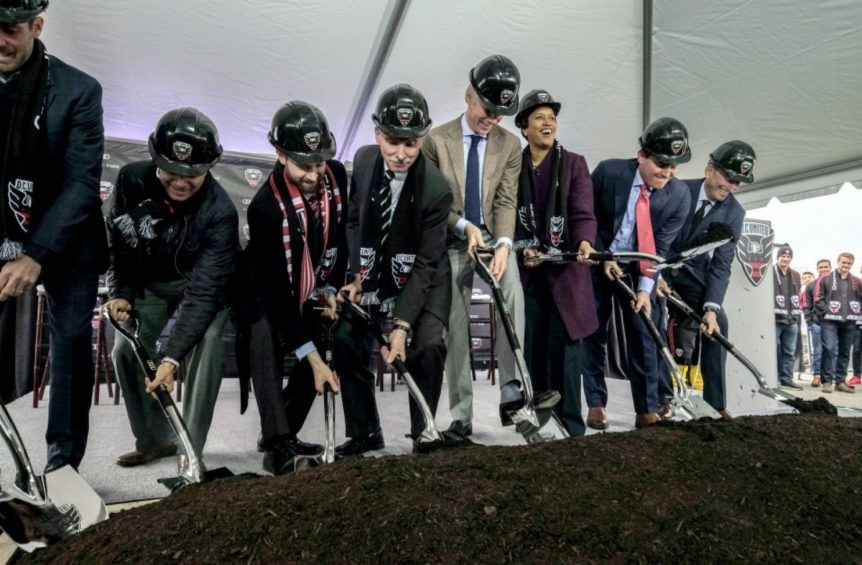 D.C. United Stadium Groundbreaking Photo